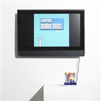 super mario movie (collab. w/ paper rad) by cory arcangel