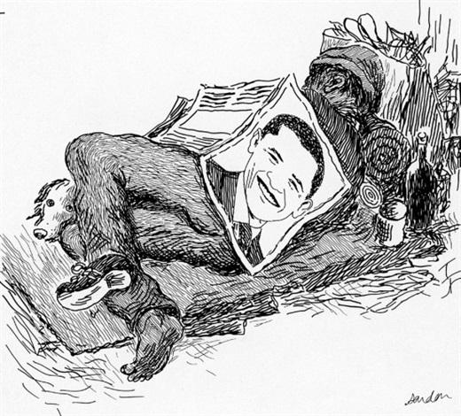 obama président (from journal le monde) by vincent sardon