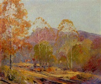 brown county landscape by georges lachance