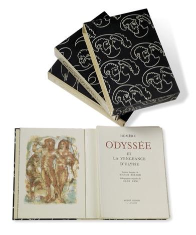 odyssée 3 bde 3 vols w117 works by hans erni