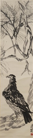an eagle by qi baishi