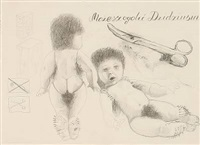 you can shave the baby (sketch) by zbigniew libera