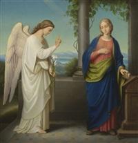 verkündigung mariens by auguste hess