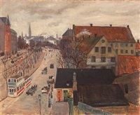 scene from copenhagen by otto nielsen