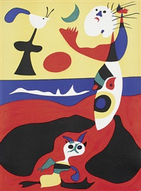 l'eté by joan miró