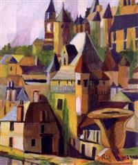 cityscape by jeanne rij-rousseau