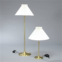 floor- and table lamp by le klint