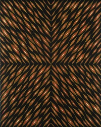 painting for the center of your head by fred tomaselli