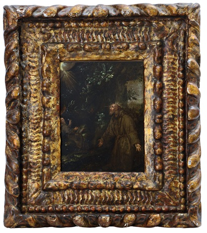 estasi di s.francesco by hans rottenhammer the elder