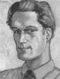 porträt eines jungen mannes by emile helfer