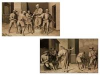 das gleichnis der arbeiter im weinberg (pair) by bacchiacca