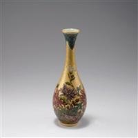 vase 'chrysanthèmes' by optat milet