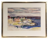 georgetown, maine by william zorach
