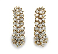 pair of cascade earrings by kurt wayne
