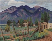 a new mexico landscape by laura hoernig