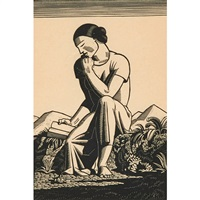 the reader by rockwell kent