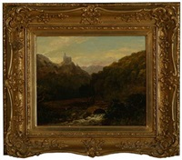 hilly landscape by george vincent