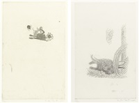 susanna moore, hunters and gatherers (set of 7) by kiki smith