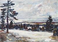 jura neigeux by henri piccot