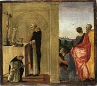 miracolo del santo vincenzo ferrari by francesco granacci