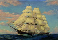 tall ship by carl wendell rawson