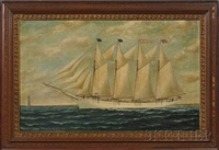 portrait of the schooner