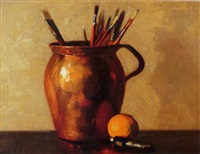 still life in studio by clifton a. wheeler