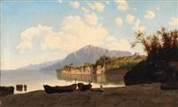 veduta della costa campana by federico cortese