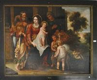 sainte famille by p. van avant