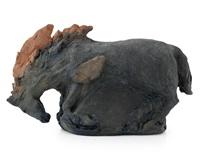 skulptur i form av häst by henrik allert