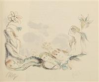der gürtel (bk by dietrich von glaz w/12 works, 4to) by rudolf grossmann