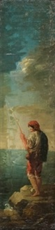 boceto cartón para tapiz by d. francisco bayeu y subias