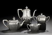 hampton coffee and tea set (set of 4) by arthur l. barney