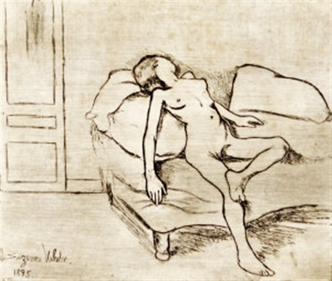 louise nue by suzanne valadon