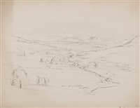 white mts from littleton by benjamin champney