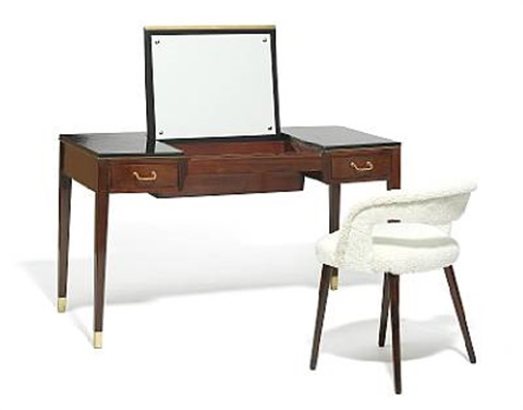 Dressing table with vanity chair set of 2 by Frode Holm on artnet
