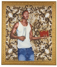 passing/posing #3 by kehinde wiley