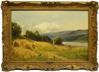 near llangollen north wales by john clayton adams