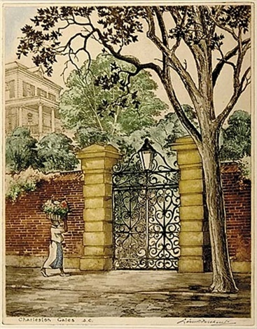 charleston gates sc by leon rene pescheret
