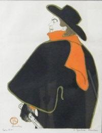 aristide bruant dans son cabaret by henri de toulouse lautrec