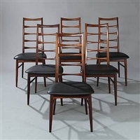 chairs (set of 6) by niels koefoed