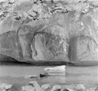 bord de glacier by germaine hainard-roten