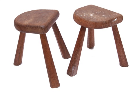 elephant stools pair by sori yanagi