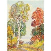fernbank woods, brockville, ontario by robert henry lindsay