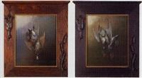 nature morte - ducks by george joseph amede coulon