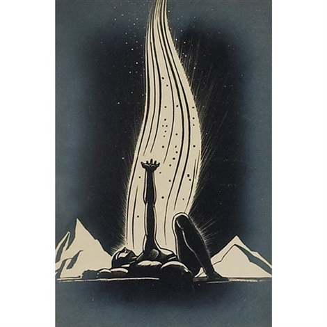 flame by rockwell kent