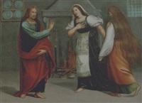 cristo in casa di marta e maria by vincenzo di benedetto tamagni