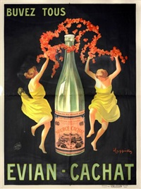 evian cachat by leonetto cappiello