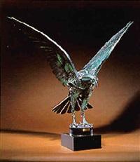 an eagle by walenty pytel