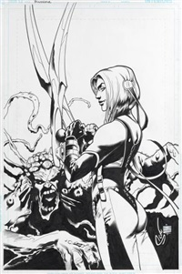 bloodrayne: prime cuts 4 (cover) by steve scott